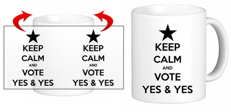 Keep Calm Yes & Yes - Ref.10009