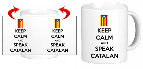 Keep Calm & Speak CATALAN - Ref.10010