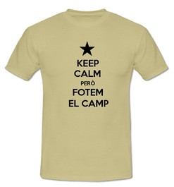Keep Calm però Fotem al Camp - Ref.0102701