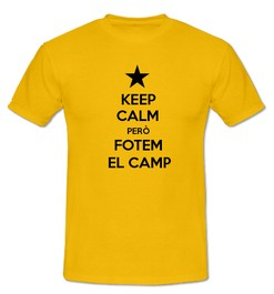 Keep Calm però Fotem al Camp - Ref.0102709