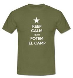 Keep Calm però Fotem al Camp - Ref.0102710