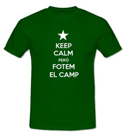 Keep Calm però Fotem al Camp - Ref.0102715